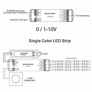 Led In Reihe : led connex dimmer 0 1 10v auf pwm 4 kanal bis 20a 12 36v dc mextronicshop zubeh r steuerung ~ Watch28wear.com Haus und Dekorationen