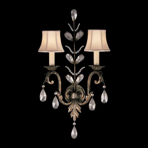 fine art ls 142550 a midsummer night 39 s dream crystal wall sconce