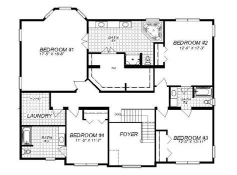 floor plans tucson the tucson 4499 square foot two story floor plan