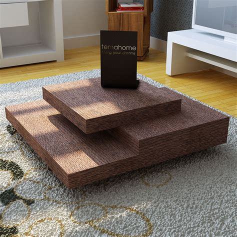 slate coffee table chocolate temahome living touch