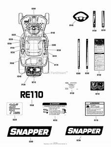 Snapper Re110  7800950