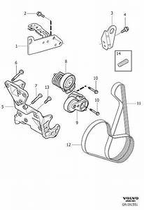 Volvo C30 Drive Belt Diagram