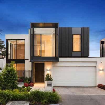 gambar desain eksterior rumah minimalis kontemporer