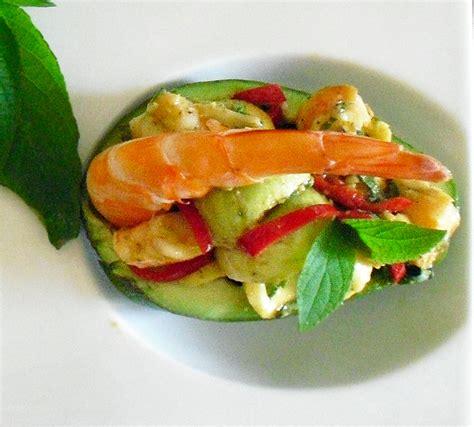 sauge ananas cuisine avocats aux crevettes et sauge ananas la recette facile