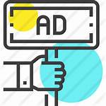 Icon Ad Advertising Advertisement Icons Board Marketing