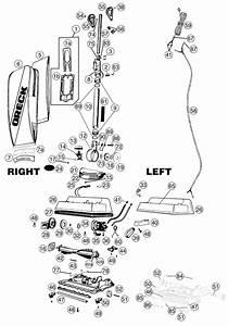 Oreck U4200h2 Vacuum Parts