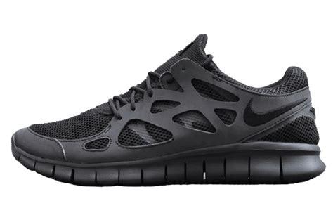 free running 2 nike free run 2 black the sole supplier