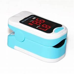 Led Finger Tip Pulse Oximeter Spo2 Pr Blood Oxygen Heart