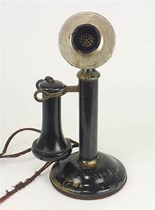 Vintage Western Electric Manual Candlestick Telephone