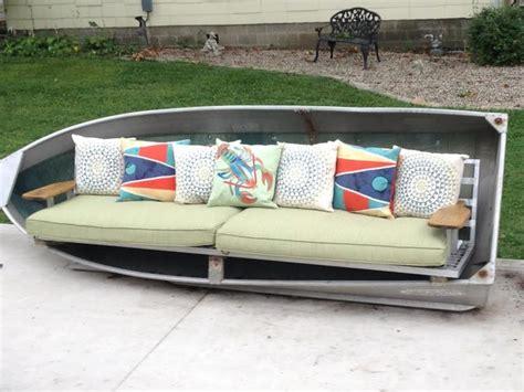 Kitchen Lighting Ideas Over Island - repurpose an aluminum boat into an xl sofa beach style patio columbus by summer classics