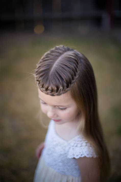 Crown Braids Cute Girls Hairstyles