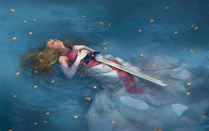 Zelda Legend Sword Master Fantasy Birchal Gabriela