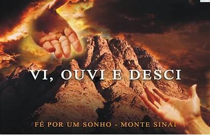 Monte Sinai Fogueira Santa Israel Deus Parede