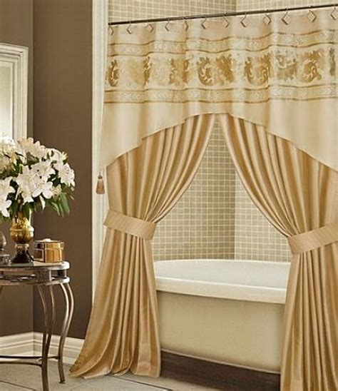 bathroom with shower curtains ideas how to choose your luxury shower curtain interior design