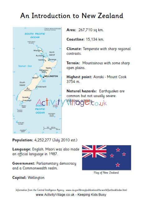 introduction   zealand fact sheet