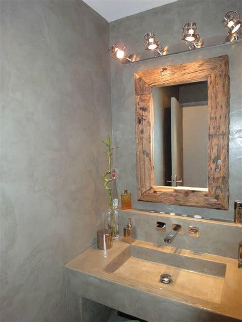 enduit cuisine lessivable beton cire blanc stunning italienne avec revtement