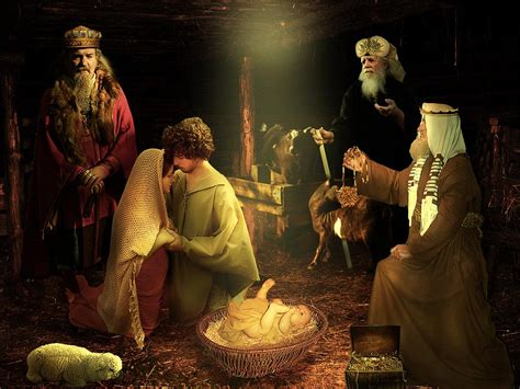 jesus birth wallpapers pictures