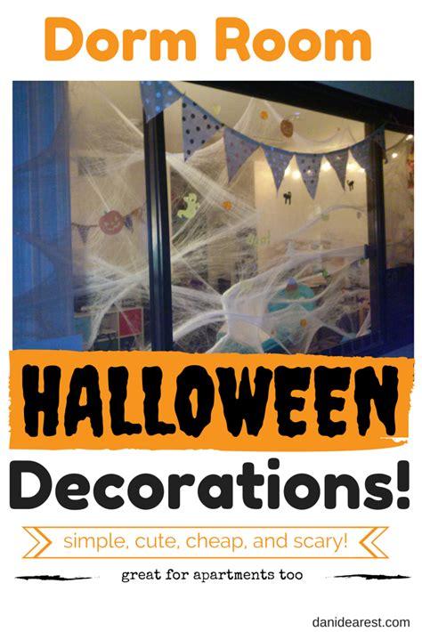 halloween dorm room decorations