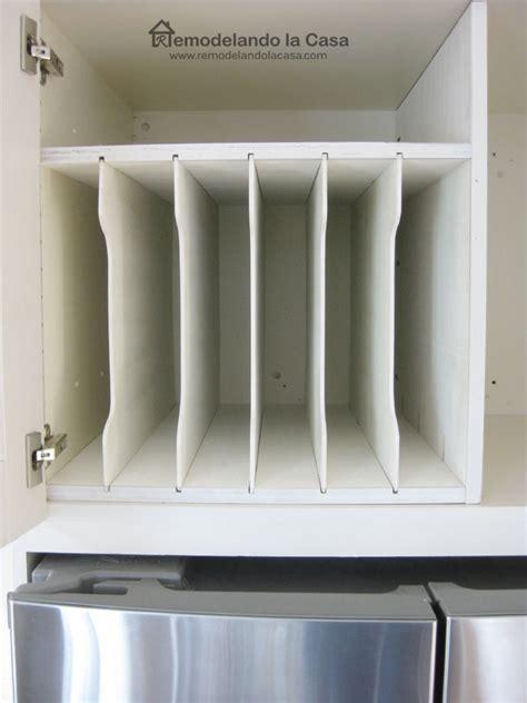 diy  fridge tray divider remodelando la casa