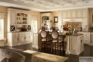 belmont kitchen island kraftmaid maple cabinetry in biscotti with cocoa glaze