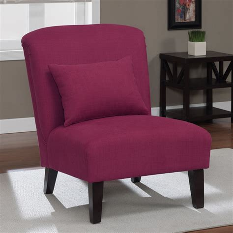 raspberry accent chair contemporary armchairs and