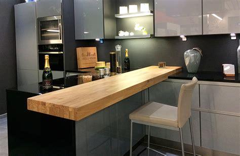 cuisine plan travail bois cuisine plan de travail bois massif sur mesure épaisflip