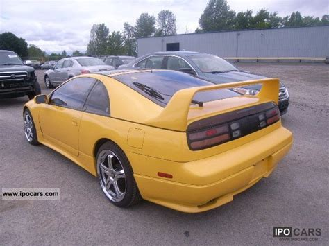 nissan sport 1990 1990 nissan 300 zx car photo and specs