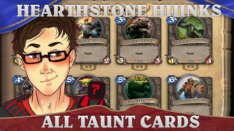 hearthstone hijinks all taunt deck youtube
