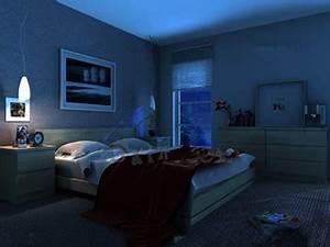 Modern Ultra Simple Quiet Bedroom 3D Model DownloadFree