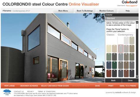 colorbond colours backyard pods