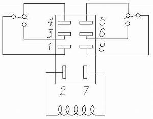 2 pole relay pinout diagram electric pinterest With relay wiring diagram furthermore 5 pin relay wiring diagram on 8 pin
