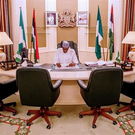 I Resumed Office Today by President Buhari Resumes Office After Election