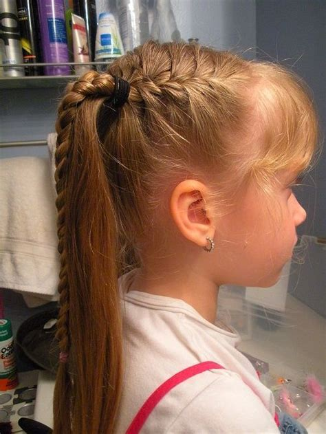 Easy Kid Hairstyles by 78 Best Images About Hair On Children