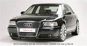 Audi A8 D2 Keeping Pace With Audi A8 D3 Look    Press