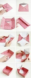 Pliage En Papier : 1001 id es comment faire une bo te en papier ~ Melissatoandfro.com Idées de Décoration