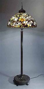 the 28quot magnolia tiffany lamp and bronze floor lamp base With tiffany magnolia floor lamp