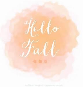 Hello Fall Printable Design {Top Download} - kraft&mint blog
