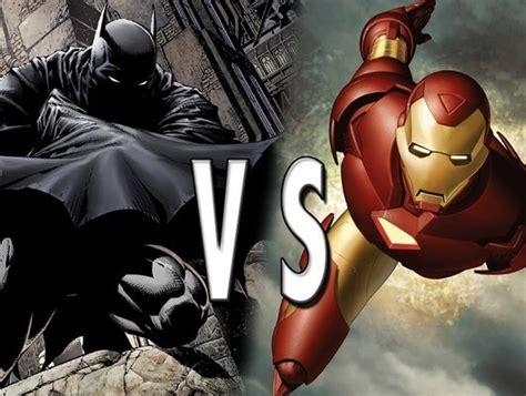 battle  worlds smartest men batman  iron man