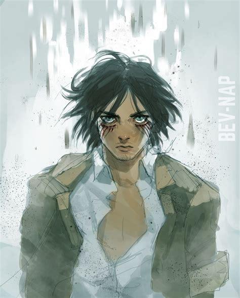 Attack on titan shingeki no kyojin eren jaeger cosplay costume long sleeve shirt. Eren Jaeger Long Hair Fan Art | Eren jaeger, Attack on ...