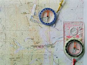 Map  U0026 Compass  Adjust For Declination  U0026 Orient The Map