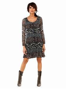 top robes blog robe manches longues imprimee With affiche chambre bébé avec tunique longue fleurie