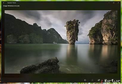 Dynamic Desktop Theme Windows Apps Lock Screen