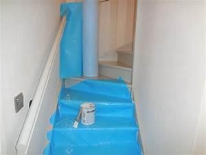 Protection Sol Pour Travaux : protection contre la peinture pour escalier travaux chantier kingpro ~ Melissatoandfro.com Idées de Décoration