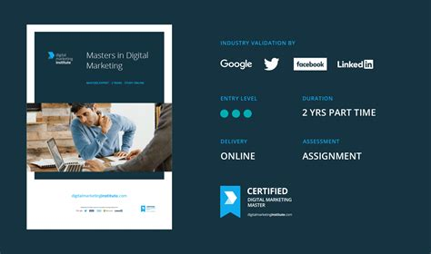 recognised digital marketing courses learn digital marketing at the digital marketing institute