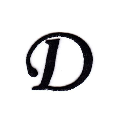 monogram letters   black letter  iron  embroidered applique ebay