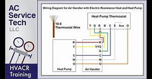 Ga Heat Ac Thermostat Wire Diagram