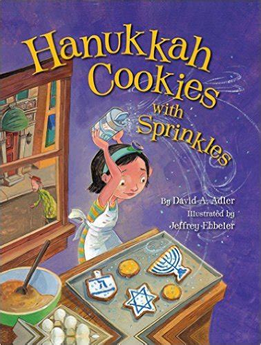 hanukkah picture books no time for flash cards 509 | hanukkah cookies with sprinkles hanukkah books for kids