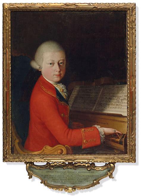A Rare Portrait Of Teenage Mozart Christies