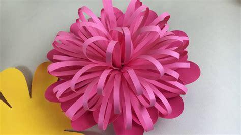 folded fringe flower bud  cricut  silhouette youtube
