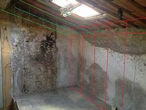 Doubler Un Mur En Placo Sur Rail : am nagement du grenier pose des rails 8 messages ~ Dode.kayakingforconservation.com Idées de Décoration